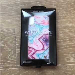 Wild Flower iPhone X Case
